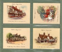 Tobacco cards cigarette cards  Old Inns / pubs 1939 set